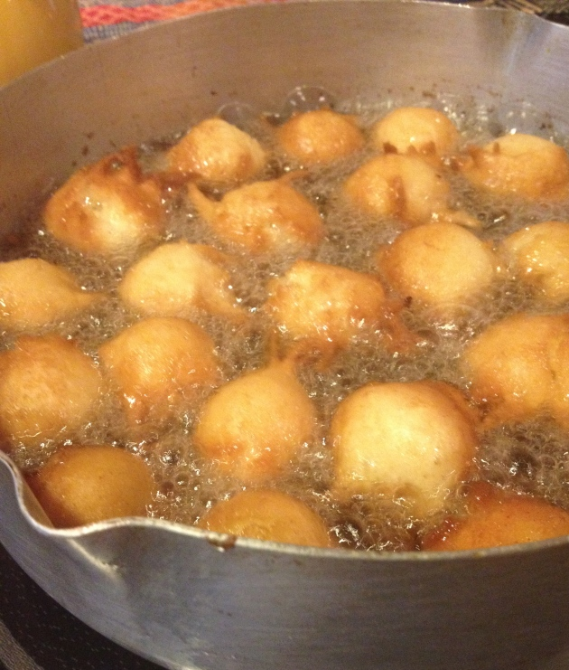 Frying Gulgoolas