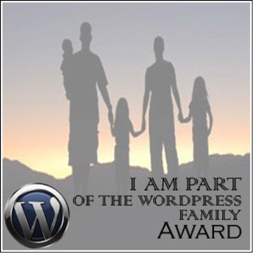 wordpress family blog award