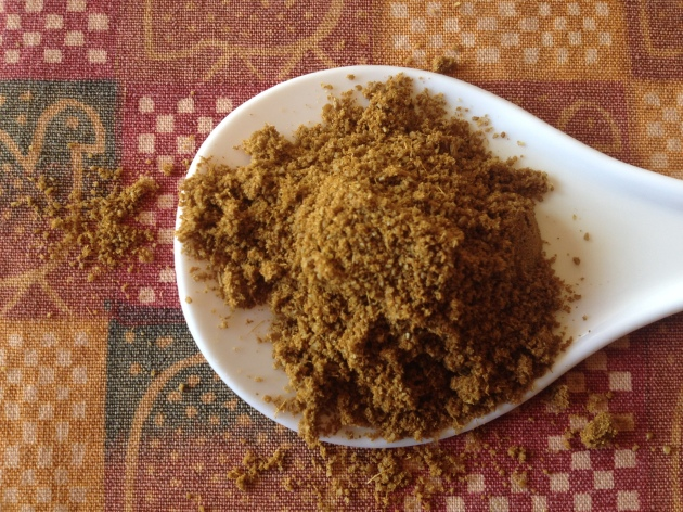 Freshly ground Cumin