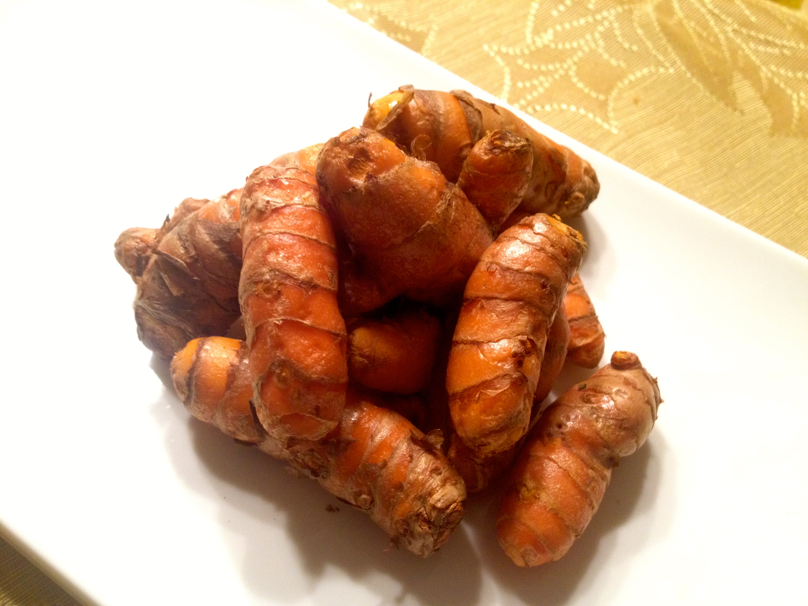 Raw Turmeric - member of the Rhizome Family