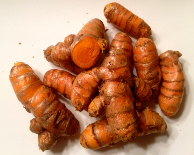 Turmeric in its raw form