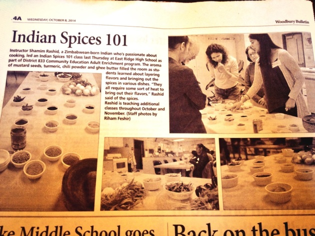 So there a little fun piece that was in the Woodbury Bulletin this week! yay!